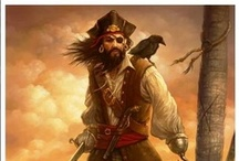 """""""Pirates Sail The Seven Seas"""" / by Shirley Moon"""