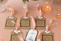 Wedding Ideas / Make your wedding day extra special with these beautiful ideas for invitations, place cards, favors, escort cards and more. All of these DIY ideas can be created at home using Avery products and free printable designs at avery.com/wedding.