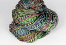 caterpillargreen yarns / Colourways and Projects worked up in our self-striping yarns.