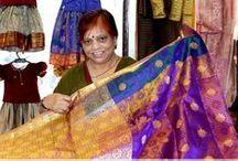 ClientSpeak - Sri Padmavathi Silks / Our esteemed clients pose for us (^_^) #SPS #Silks #Sarees #Kancheepuram #Client