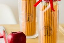 Teacher Gift Ideas / Check out these fun, creative DIY ideas to help you make inexpensive gifts for your kids' teachers. From holidays to back to school to thank you gifts, all of these ideas can be created at home using Avery printables and design templates at avery.com/print. Make sure your teachers know they're the best!