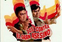 Spanish posters of Shaw Brothers movies / Posters y grafísmos españoles de películas clásicas de la Shaw Brothers