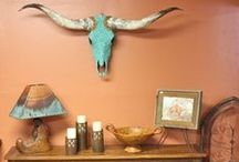 Western Decor / Beautiful western, ranch style homes and decorations.