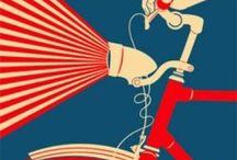 Poster Art / Cycling poster art