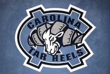 North Carolina Tarheels Cornhole