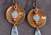 Earrings - Metal & Stone