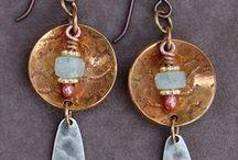 Earrings - Metal & Stone