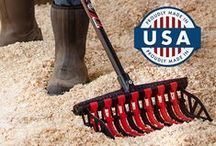 The Wave Fork® / Noble Outfitters™ Wave Fork is an unbreakable, lightweight, and customizable manure fork. Get yours today!