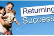 """Returning Citizens Success Stories / Learn out the successful journey of rehabilitation our reentry citizens make through this new board of """"success stories""""."""