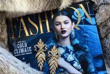 Fashion Quarterly covers