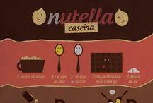 Receitas Genéricas / Aprenda fazer receitas como Nutella, Twix e outras comidas famosas em casa.