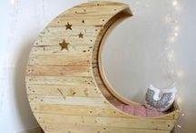 Déco en bois / Une sélection d'objets déco en bois