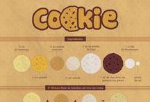 Receita de Biscoitos / Aprenda fazer várias receitas fáceis de tipos diferentes de biscoitos e cookies