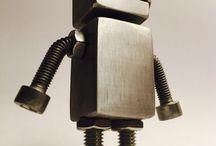 KabeBots / Metal & Wood design keychians and figures