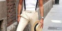 Looks Masculinos de Verão - Summer Men's Style / Moda Masculina de Verão: Inspirações de Looks Masculinos para o Verão. Roupa leve de Homem. Moda Verão para Homens. Men's Style for Summer.