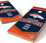 NFL Champions Collection Cornhole Boards / Officially licensed Proline Tailgating Champions Collection cornhole boards. Highest quality construction and design. Regulation size and includes bags.