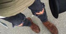 Destroyed Jeans - Calça Rasgada / Inspirações com Jeans Destroyed. Looks Masculinos com Calça Rasgada para usar no dia a dia, tanto no Streetwear, Street Style, Casual, como para o Visual mais alinhado. Destroyed Jeans style Inspiration.