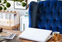 Office | Bureau / How to style your office, desk or working space