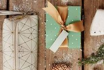 Envoltorios y papeles de regalo / Wraping papper and gift presentation