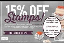 Stampin' Up! News, Giveaways, & Promotions / #StampinUp #Giveaway #News #Promotion