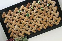 Wine cork craft / ワインのコルクのクラフト