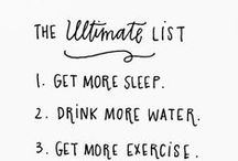 To do list / Great to do listes