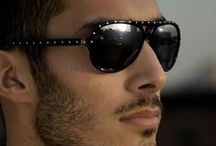Sunglasses Men / Shades for style and UV protection. Protect your eyes and skin to reduce your risk of melanoma:  wear sunglasses.