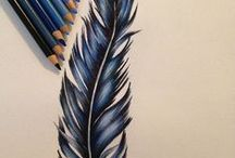 Design feathers