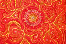 Dotart / Dotart mandala stones and dotart paintings