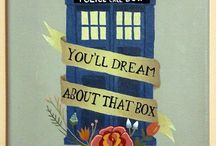 Trust me, I'm the Doctor. / I'm definitely a mad man with a box.
