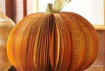 Fall - September / October / November / Activities, decor, ideas, inspirations about Fall / Autumn.  Ideas for September / October / November