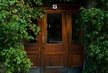 Entrance/Invitation / Doors have an important job to do. They help make a memorable first impression. / by Nevada Jennings