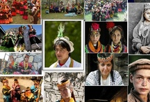 Kalash People of the Hindu Kush Mountains / The Kalash or Kalasha, are an ethnic group found in the Hindu Kush mountain range in the Chitral district of the North-West Frontier Province of Pakistan. Although quite numerous before the twentieth century, this non-Muslim group has been partially assimilated by the larger Muslim majority of Pakistan and seen its numbers dwindle over the past century. Videos:  http://www.youtube.com/results?search_query=kalash&oq=Kalash&gs_l=youtube.1.0.35i39j0l9.20204.21221.0 http://www.youtube.com/my_videos?