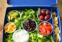 """Healthy Lunch Ideas / A collection of great ideas to help kids eat healthier! Think out of the box about what you're putting IN the box! (Psst! English teacher here! Actually, it's HEALTHFUL lunch ideas, but ... I know people will search for """"healthy"""" first so that's why I used the term!)."""