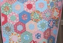 Quilts: Hexagons / by Angie Davis