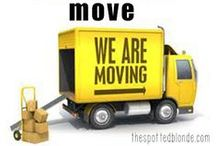 For the Home: Moving Tips / by Sharon Judd