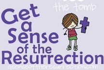 Faith-Filled Easter / Resurrection Sunday / Ideas for a Christ Centered Easter Celebration with your children. Faith-filled activities for toddlers and preschoolers, book ideas, gift ideas and more