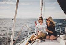 S T Y L E // Seas the Day Style for Men and Women / Nautical style inspiration for men and women  http://bit.ly/seasthedaycalligraphy