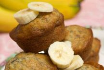 Muffins / My family loves muffins especially the banana ones. Some sneaky recipes too.