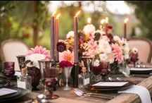 T & G / bohemian luxe, enchanted woodland, etheral, magical theme. Lots of fairy lights, candles, lush greenery and blooms in berry, oxblood, and blush. celebrating nature and the natural. incorporate the written word.