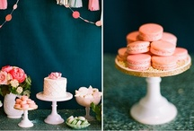 . dessert table .