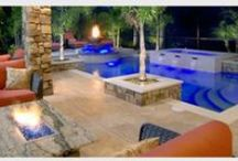 Fire Features / Fire Features by Florida Pool Designer Ryan Hughes Design/Build