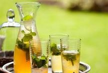 Cold Drinks / Wow your guests the next time you're entertaining with these refreshing drinks [alcoholic and non-alcoholic]