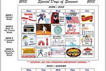 Special Event Calendars