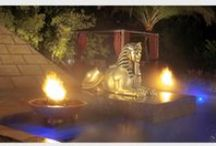 Signature Project - Pharaoh's Palace Pool / Florida Pool Designer, Ryan Hughes Design/Build Signature Project - Pharaoh's Palace Pool. #swimmingpooldesign #floridapoolbuilder