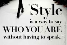 Style/ Estilo / by Sabrina de Andrade e Silva Cabañas