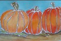 Halloween ideoita / Halloweenaiheisia askartelu- yms. ideoita