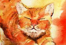 Orange Felines / Beautiful Orange Kitty Cats