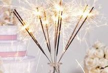 Happy New Year / Celebrate the new year with everything that's bright and beautiful