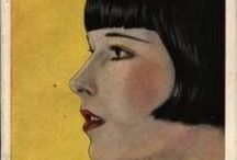 art deco illustration, posters, art